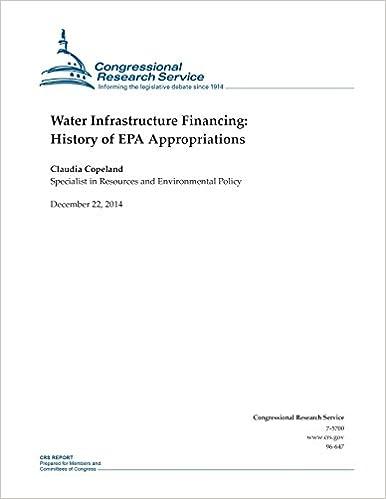 Descargar pdfs de libros de texto.Water Infrastructure Financing: History of EPA Appropriations (CRS Reports) (Literatura española) PDF RTF DJVU