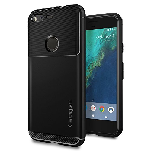 Spigen Rugged Armor Designed for Google Pixel Case (2016) - Black