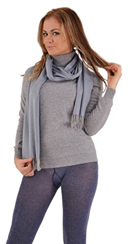 Italian Turtleneck Sweater (Incomparable Pure Italian Cashmere Turtleneck Sweater - X-Large (14-16)/Black Pearl)