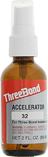 ThreeBond TB1791BB Glue Activator with Spray Pump, 2 oz Capacity by Three Bond