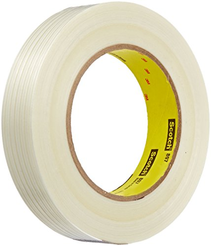 Scotch T915897 3M 897 Strapping Tape, 60 yd. Length, 1