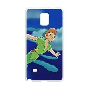 Samsung Galaxy Note 4 Cell Phone Case White Walt Disney Peter Pan Illust Art SLI_674588