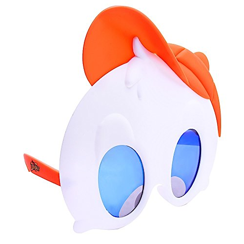 Sunstaches Disney's Duck Tales Huey Character Sunglasses, Instant Costume, Party Favors, (Huey Duck Costume)