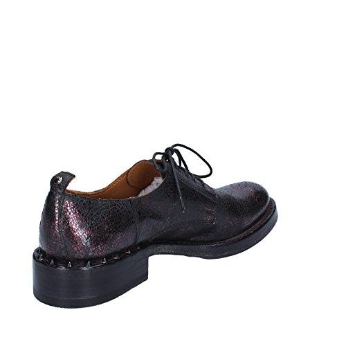 Femme Élégantes Cuir Chaussures Bordeaux Moma nqwOCXUq