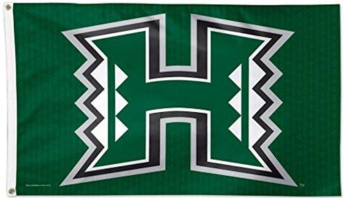 WinCraft NCAA University of Hawaii Deluxe Flag, 3' x 5' ()