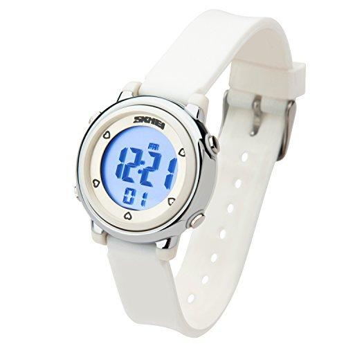 Mejor línea Digital Kids Watch Band con carillón horario, cronómetro, alarma, calendario y
