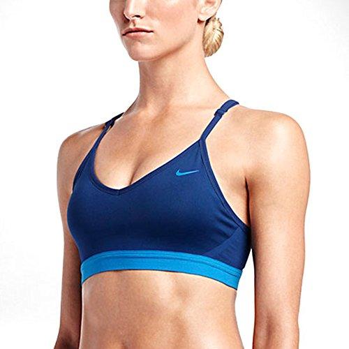 Nike Ladies Pro Indy Cross Back Bra (Small)