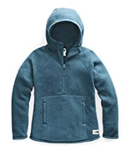 The North Face Women's Crescent Hooded Pullover, Blue Coral Heather, XXL