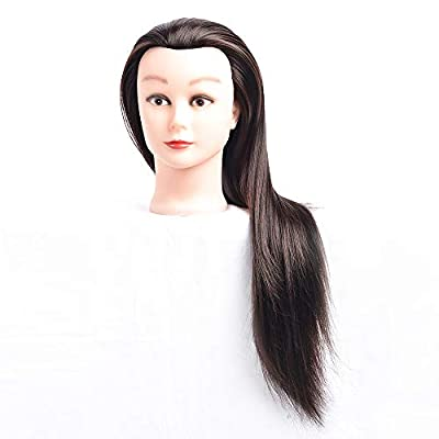 Cosmetology Mannequin Head Hair