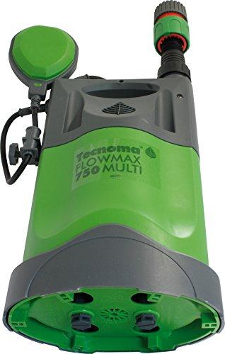 Tecnoma Schmutzwasserpumpen Flowmax 13000L Multi 3 in 1 -750 W, 13000 L/St, 0,75 Bar, Max. Arbeitstiefe 5 Meter, Mehrfarbig