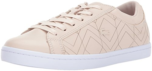 Lacoste Womens Straightset Lace 417 1 Sneakers Light Pink