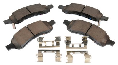 Ac Delco Replacement Parts - ACDelco 171-1067 GM Original Equipment Front Disc Brake Pad Assembly