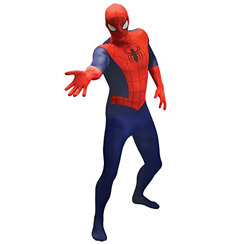 Spiderman Costumes Uk (Extra Large Spider-man Official Morphsuit)