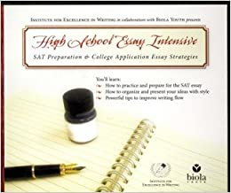 High School Essay Intensive Sat Prep Dvdcd Amazoncom Books High School Essay  Intensive Sat Prep Dvdcd