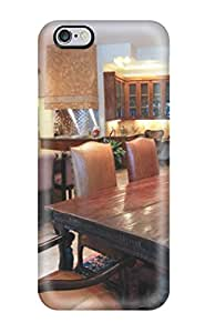 Iphone Case New Arrival For Iphone 6 Plus Case Cover Eco Friendly Packaging Expansive Eclectic Kitchen And Dining Area With Brown Leather Chairs