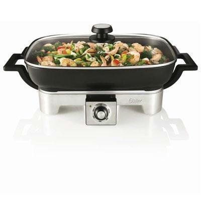 stainless steel skillet 16 inch - 9
