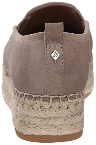 Sam Edelman Kvinna Carrin Plattform Espadrille Slip-on Sneaker Kitt Mocka