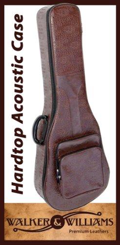 Walker & Williams Hybrid Hardtop Case and Gig Bag Acoustic Guitar Chestnut Brown