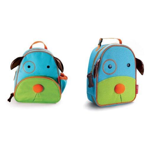 Skip Hop Lunch Bag (Skip Hop Zoo Backpack and Lunchie Set, Dog)