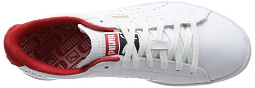 Star Adulto S6 Craft Unisex White Risk Red Court Bianco Puma High White da Ginnastica Scarpe 5t084wxnq