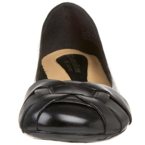 Naturalizer Maude Ballet Flat Black Leather