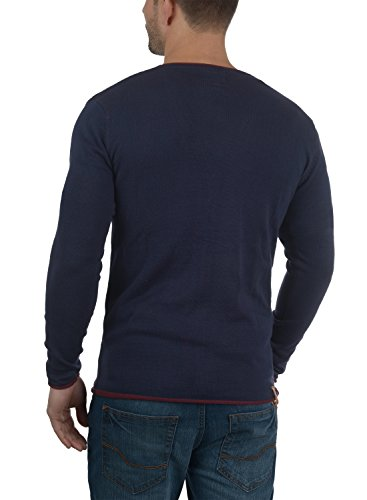 Col V Veste Hommes Bleu Cardigan Pour Redefined Rebel Marine Maxen En Avec tXzW0
