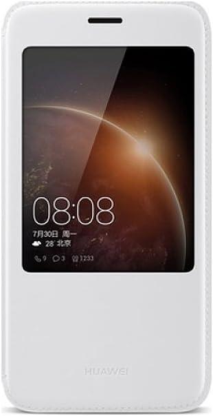 Huawei 51991197 - Funda con Tapa para G8, Color Negro: Amazon.es ...