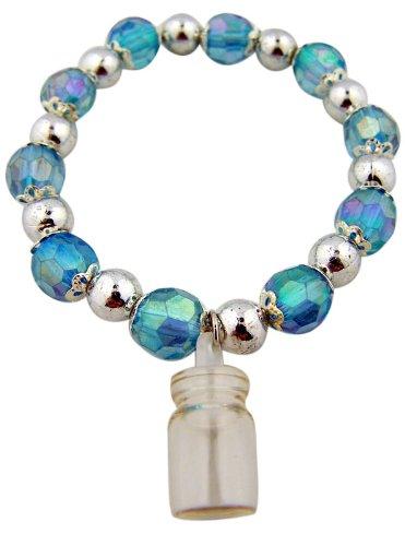 - Catholic Jewelry Light Blue Rosary Prayer Beads 7