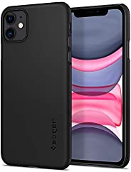Spigen Thin Fit Works with Apple iPhone 11 Case (2019) - Black