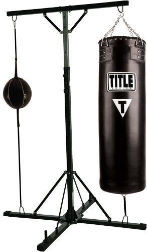 TITLE Boxing Heavy & Double End Bag Stand