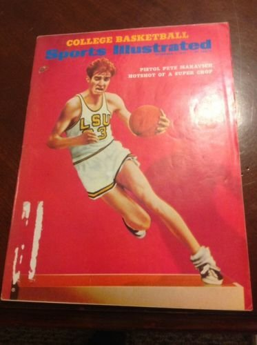 December 1 1969 Sports Illustrated Pistol Pete Maravich LSU Tigers from Unknown