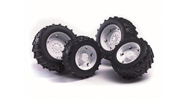 Bruder 02014 - TOP ruedas del tractor profesionales individuales con bordes blancos: Amazon.es: Juguetes y juegos