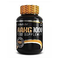 BioTech USA AAKG 1000mg 100 Tabs Muscle Pump Mega Hardcore L-Arginine Nitric
