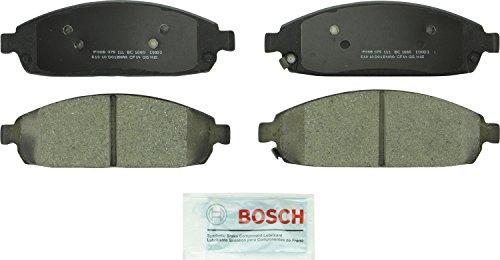 Bosch BC1080 QuietCast Premium Ceramic Disc Brake Pad Set For: Jeep Commander, Grand Cherokee, Front