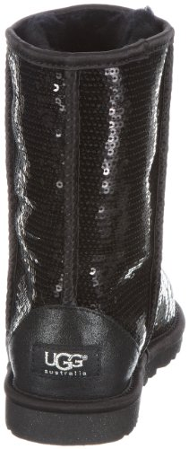 UGGClassic Short - Botas Mujer Negro (Black)