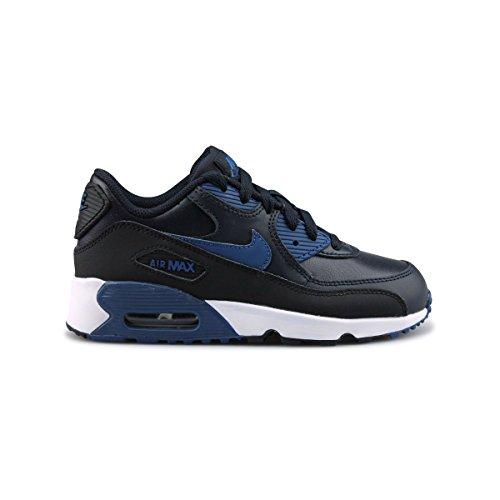 Nike 833414-402, Zapatillas para Niños Azul (Dark Obsidian / Court Blue / Black / White)