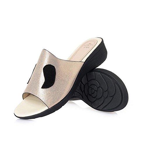 Aperta con store Estivi Grandi Antiscivolo Fondo di Piatto Bocca Ciabatte Donna Dimensioni di Tipo da e Sandali Un Ciabatte Sandali Sandali Pendenza con Shoe per Donna OqdwTp1O