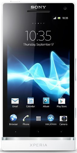 Sony Xperia SL LT26II Unlocked Android Phone (White)-International Version No Warranty by Sony