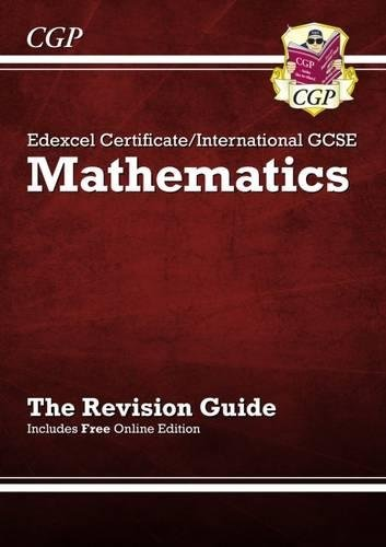 Edexcel Certificate / International GCSE Maths Revision Guide with ...
