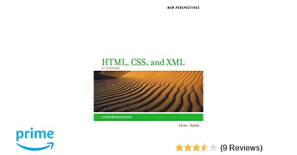 new perspectives on html css and xml comprehensive patrick carey