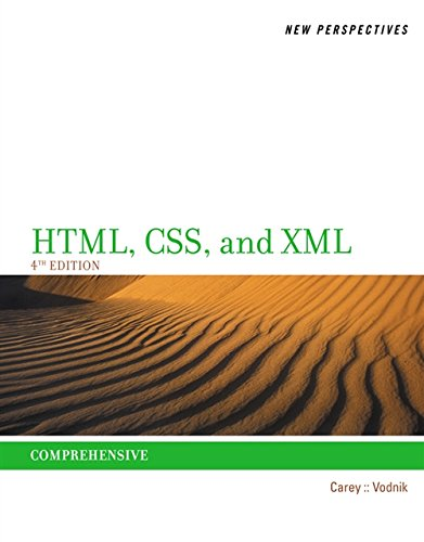 New Perspectives on HTML, CSS, and XML, Comprehensive by Cengage Learning