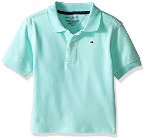 Tommy Hilfiger Baby Ivy Polo, Yucca Mint, 12 Months
