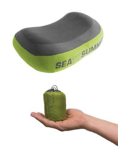 Sea To Summit Aeros Premium Pillow Grey/Green, Regular