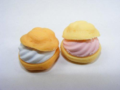 Dream A Pair of Cream Puff Japanese Erasers