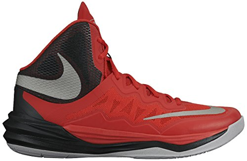 Nike Prime Hype DF II Men's Hightop Basketball Shoes Red Size 11 (High Top Basketball Shoes)