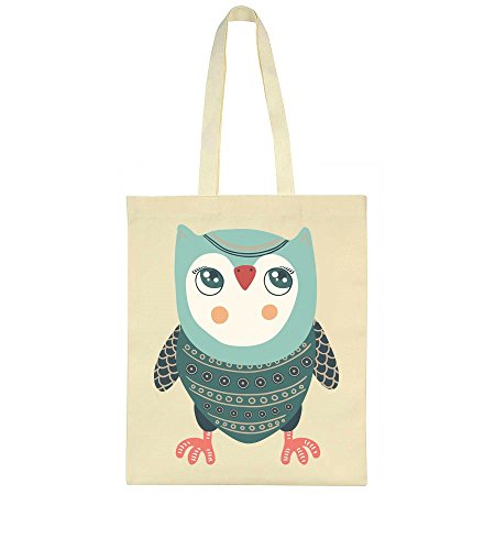 Cute Blue Blue Tote Owl Owl Bag Cute Tote ABqn7xw
