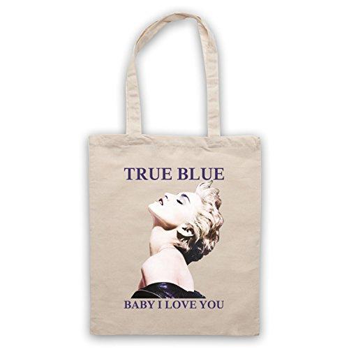 Madonna True Blue Baby I Love You Bolso Natural