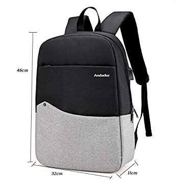 Amazon.com: men travel pack back with usb charge fashion ...