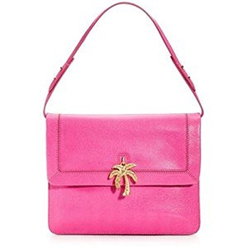 Leather Juicy Couture Pink (JUICY COUTURE LENI CHARM SHOULDER BAG PINK COLOR (NEW WITH TAG))