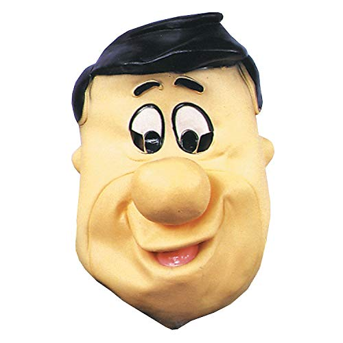 Fun Express - Fred Flintstone Latex Mask for Halloween - Apparel Accessories - Costume Accessories - Masks - Halloween - 1 Piece -